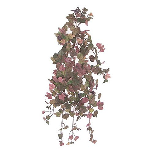 - Darice RC-345 Grape Ivy Bush, 24 inches Artificial Greenery Assorted
