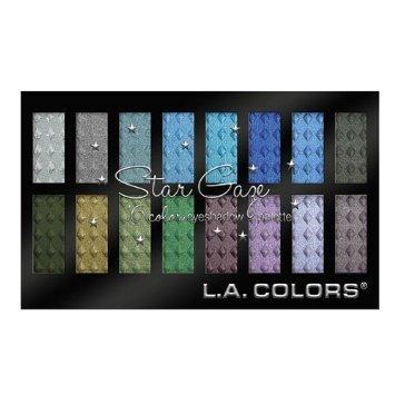 L.A. Colors Star Gaze ~ 16 Color Eyeshadow Palette ~ Contemp
