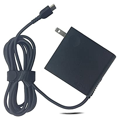 Emaks 45W USB-C Type-C Wall laptop Charger AC Power Supply Adapter for Lenovo ThinkPad X1 Table Carbon 2017 / X270 20HM 20HN /X570 20HN 20K6;Lenovo IBM Yoga 5 /720-13IKB 80X6 /910-13IKB 80VF