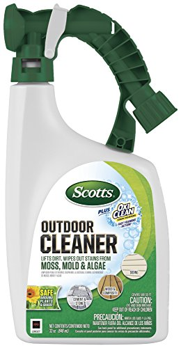 Concrete Fabric - Scotts 51062 Plus Oxi Outdoor Cleaner, 1, N