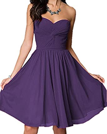 Olivias Knotted Sweetheart Lace Up Purple Plus Size Bridesmaid