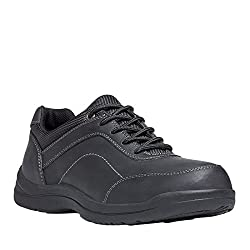 Propet Men's Gino Casual Shoe, Black, 12 3E US