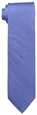 Calvin Klein Men's Etched Grid Tie