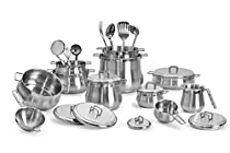 Barazzoni Cookware Set Tummy 25 pcs Made in Italy