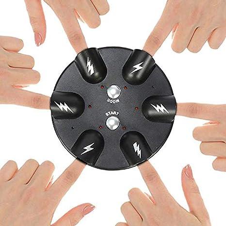 Detector de mentiras eléctrico, ruleta de dedo de la suerte eléctrica, máquina de juego