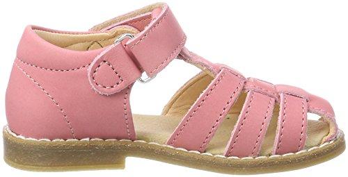 Kavat Forsvik, Sandalias con Punta Cerrada Para Niñas Rosa (Pink)