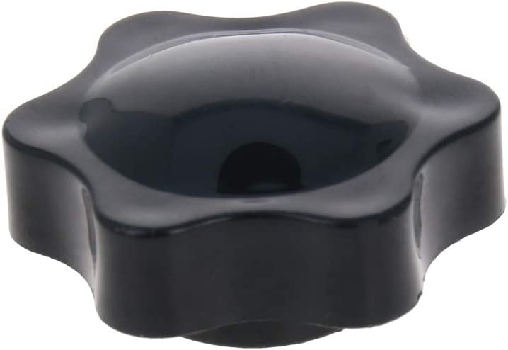 MroMax Clamping Handle Gripandles Screw Knobs Handgrips Star Knob M6 /× 10mm Male Thread 5pcs