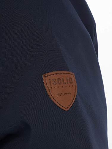 Hiver Evang Homme Bleu Manteaux solid Sq8E8