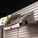 Details® Slatwall Telephone Caddy Finish Color: Pewter, Office Central