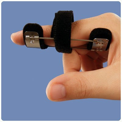 (Bunnell Spring Wire Safety Pin Splint Spring Wire Safety Pin Splint, Size: Medium, 3
