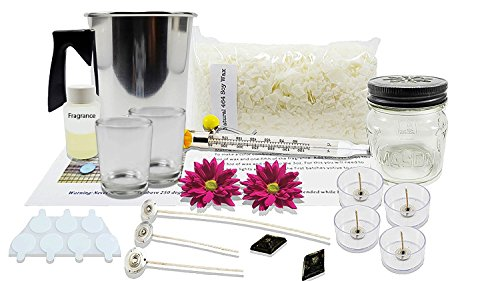 DIY Natural Soy Candle Making Kit – Makes 7 Candles