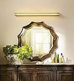 UBEN All Copper American Led Mirror Headlight Bathroom Mirror Cabinet Bathroom Toilet Makeup Lamp