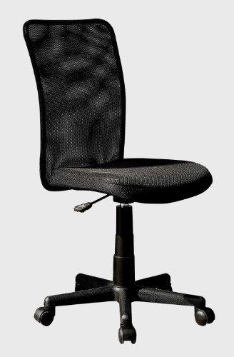 Techni Mobili Mesh Swivel Task Office Chair. Color :Black by Techni Mobili