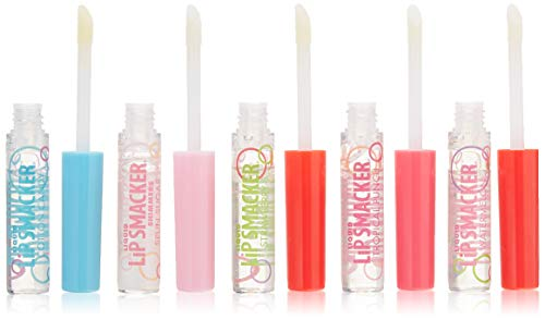 Liquid Strawberry Lip Gloss - Lip Smacker Liquid Lip Gloss Friendship Pack, 5 Count
