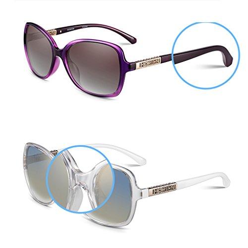 de polarisées conduisant Purple soleil Lady lunettes des HfAw4g