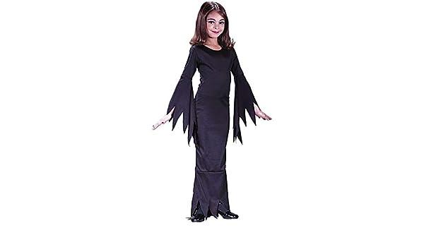 Childs Morticia Costume - Medium (Ages 8-10) (disfraz): Amazon.es ...