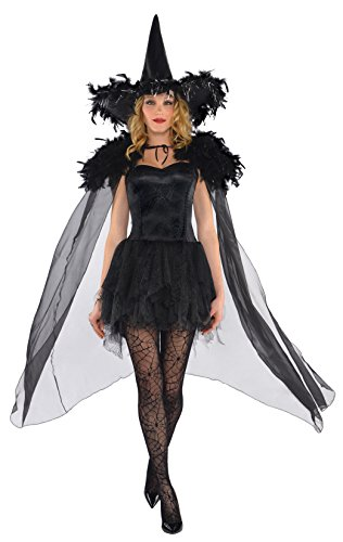 (amscan Adult Feather Witch Cape)