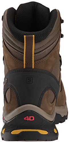 Salomon Mens Quest 4d 3 Gtx Backpacking Boots Wren / Cordino Elastico