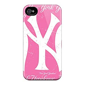 Csb10304xPiA Cases Covers New York Yankees Iphone 4/4s Protective Cases