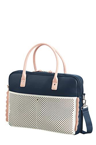American Tourister Briefcase, Dark Navy/Light Pink (Blue) - 120352/5421 ()