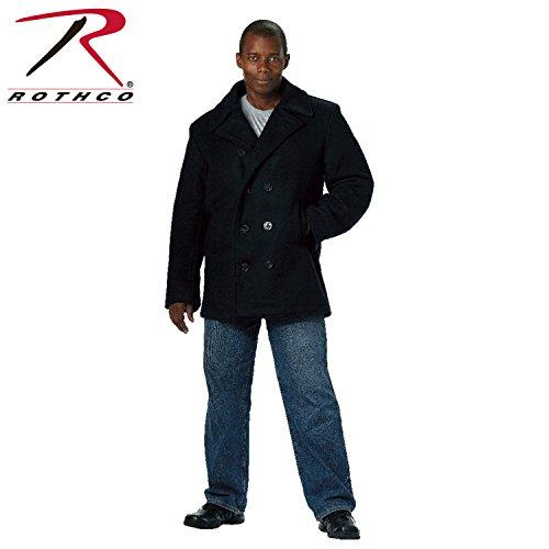 Rothco Pea Coat - Navy/XX-Large - 3X-Large, XX-Large