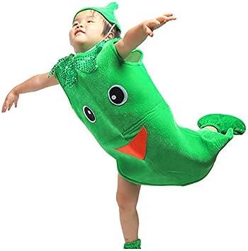 Traje verduras frutas niños Ropa de fiesta de Chile verde para ...