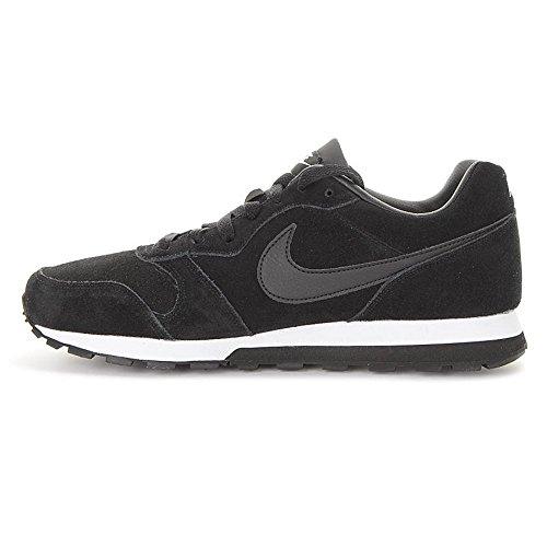 Nike - MD Runner 2 Leather Prem - 819834001 - Farbe: Schwarz - Größe: 41.0
