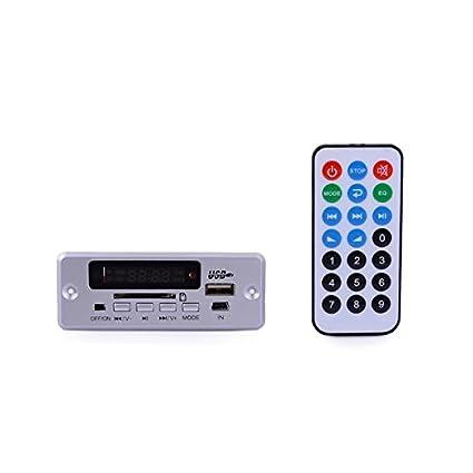 1.0u0026quot; LED Car Mp3 Player Module W/ Fm/ Usb/mini Usb/