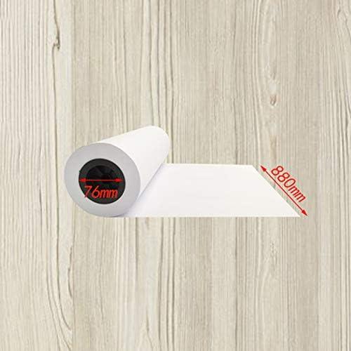 Dibujo Ingeniería De Papel Copia Dibujos De Papel Copia Papel De Impresión 80 G Cartulina Papel Blanco 3 Pulgadas 440 Mm (4 Rollos) 620 Mm880 Mm (2 Rollos) Ancho 150 M A+ (Tamaño : 880): Amazon.es: Electrónica
