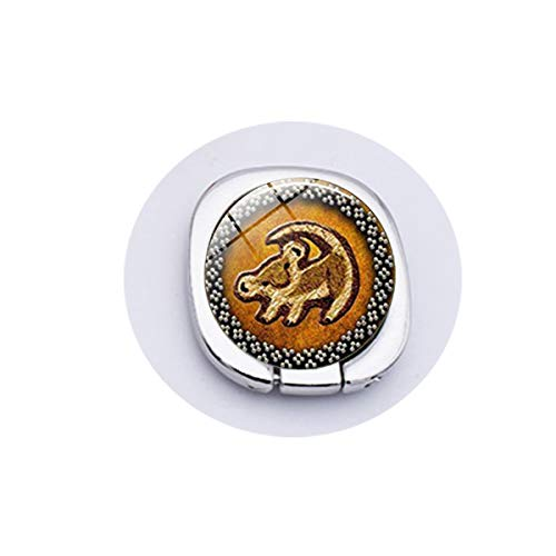 - Lion Head Pendant Lion King Simba Jewelry Round Glass Picture Fashion Vintage Mobilee Phone Grip