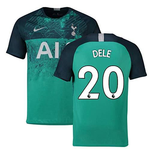 - 2018-2019 Tottenham Third Nike Football Soccer T-Shirt Jersey (DELE Alli 20)