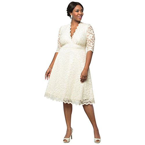 Size Style Belle Plus Dress 19150905 Shimmer Antique Wedding Short qXfExw7aFA