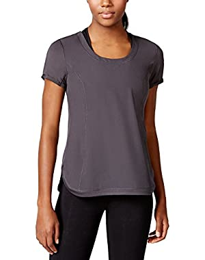 Calvin Klein Performance Women's Racerback Cutout T-Shirt