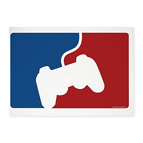 CafePress - Pro Gamer Poster - Decorative Area Rug, 5'x7' Throw Rug