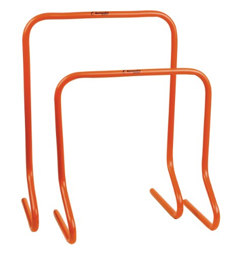 Champion Sports Plastic Speed Hurdles Training 18 or 24 Orange 24 Inch Hurdle (1 EA)