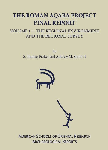 Roman Aqaba Project Hb: Final Report, Volume 1: The Regional Environment and the Regional Survey (American Schools of Or