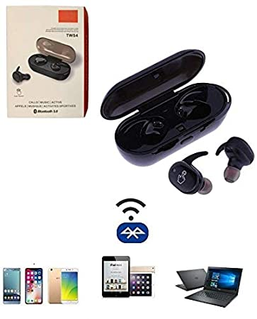 Tsv Tws 4 Invisibles Blutooth Headset For All Smart Amazon In Electronics
