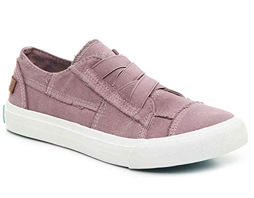 Blowfish Women's Marley Lavender Frost Color Washed Canvas Ankle-High Fashion Sneaker - 6.5M ()