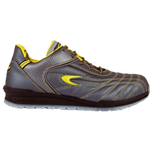 """Cofra 78430–002.w42Talla 42""""fogh S1P SRC–zapatos de seguridad, color gris y amarillo"""