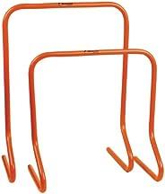 "Champion Sports PH24 Plastic Speed Hurdles Training, 18 or 24 Orange 24"" Hurdle,"