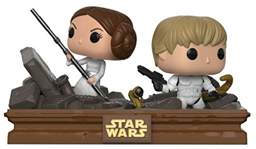 Figura Pop! Star Wars Luke & Leia Trash Compactor Exclusive