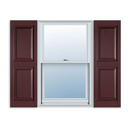 14 1 2 inch x 59 inch standard raised panel exterior vinyl for 14 inch window