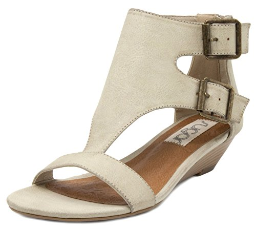 Wedge Sand T Demi Wigout Toe Open Sandal bar Sugar Womens' Buckle UqtHP
