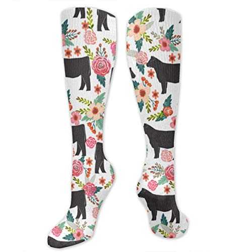 Thanksgiving Show Steer Cattle Farm Sanctuary Classics Personalized Socks Sport Athletic Stockings 50cm Long Sock Men Women