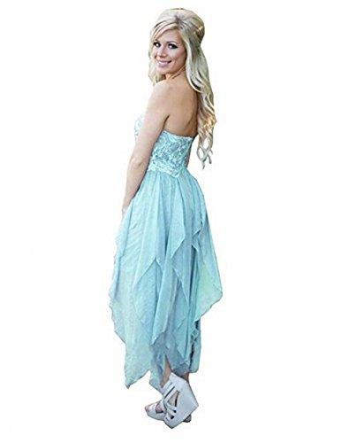 Leader of the Beauty - Vestido - para mujer azul azul claro 46