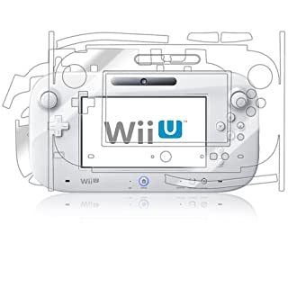 Skinomi Full Body Skin Protector Compatible with Nintendo Wii-U Gamepad (GamePad Only)(Screen Protector + Back Cover) TechSkin Full Coverage Clear HD Film (B00AB327U2) | Amazon price tracker / tracking, Amazon price history charts, Amazon price watches, Amazon price drop alerts