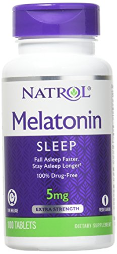 Melatonin 5mg Time Release - Melatonin 5 mg Time Release by Natrol 100 Tablets