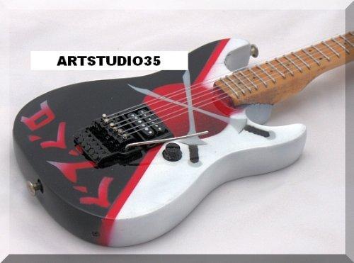 Warren Demartini Charvel (WARREN DEMARTINI Miniature Mini Guitar Charvel Sword RATT)
