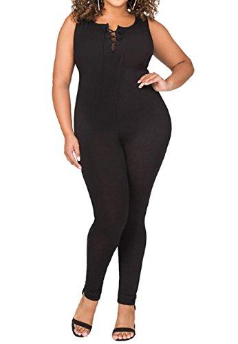 Womens Bodysuit Bodycon Jumpsuit Romper
