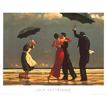 the singing butler by jack vettriano art print. Black Bedroom Furniture Sets. Home Design Ideas